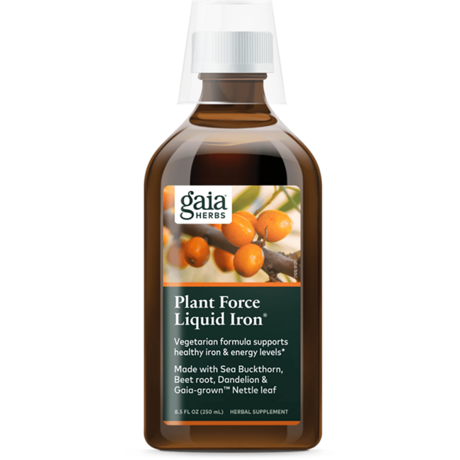 Gaia HerbsPlantForce Liquid Iron