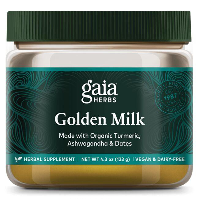 Gaia Herbs Golden Milk - Powdered Turmeric Supplement