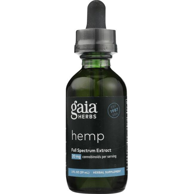 Gaia HerbsFull Sprectrum Hemp Extract
