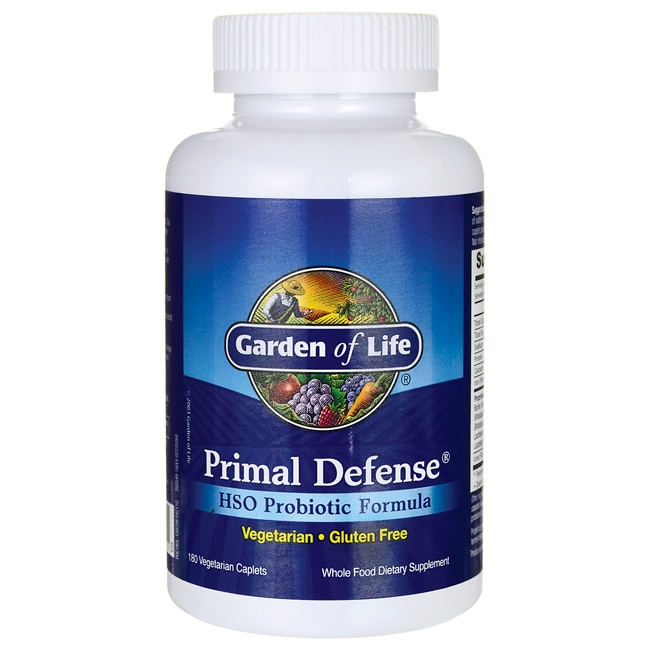 Garden of life primal defense 180 cplts swanson health products for Garden of life probiotics mood