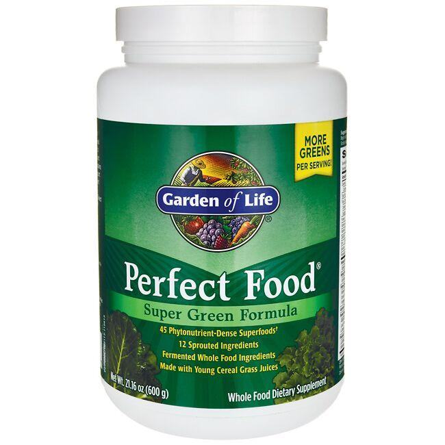 Garden of Life Perfect Food 21.16 oz (600 grams) Pwdr - Swanson ...