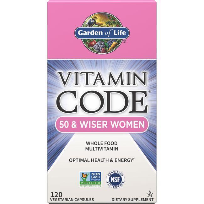Garden of LifeVitamin Code 50 & Wiser Women