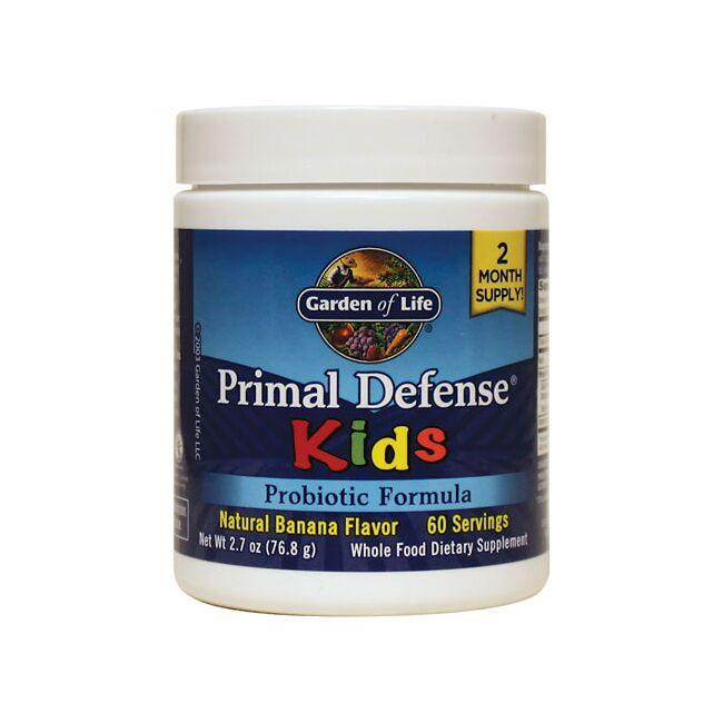 Garden of Life Primal Defense Kids Banana Flavor