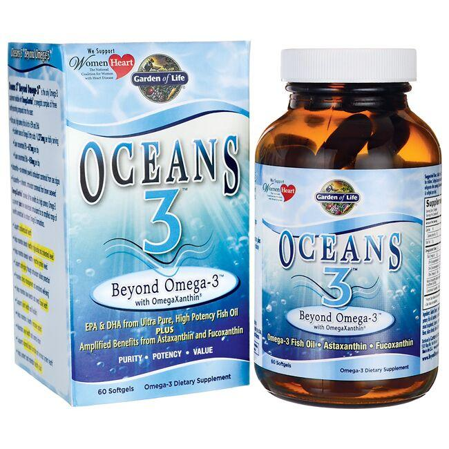 Garden of LifeOceans 3 Beyond Omega-3