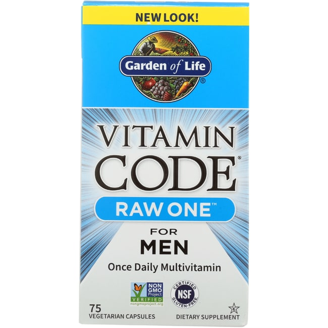 Garden of LifeVitamin Code Raw One for Men