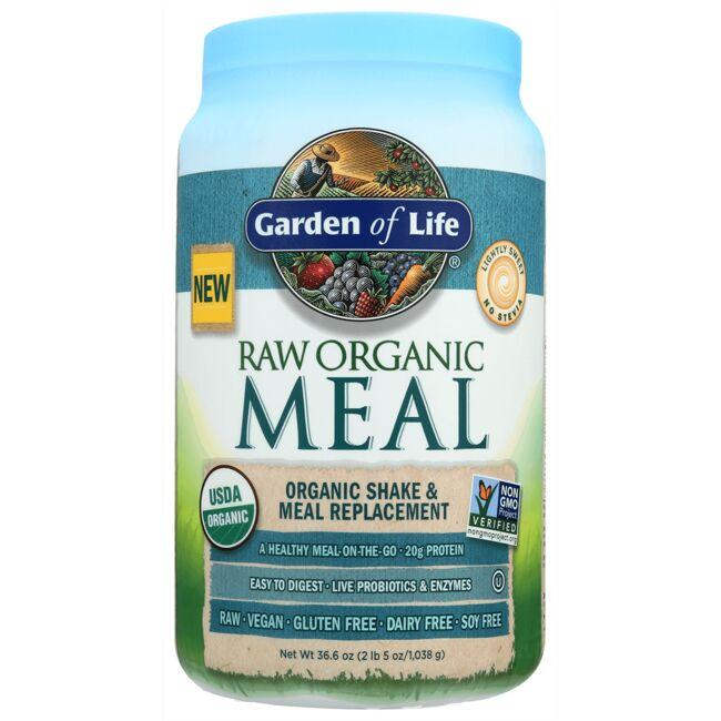 Garden of Life Raw Organic Meal Shake & Meal Replacement - Lightly Sweet