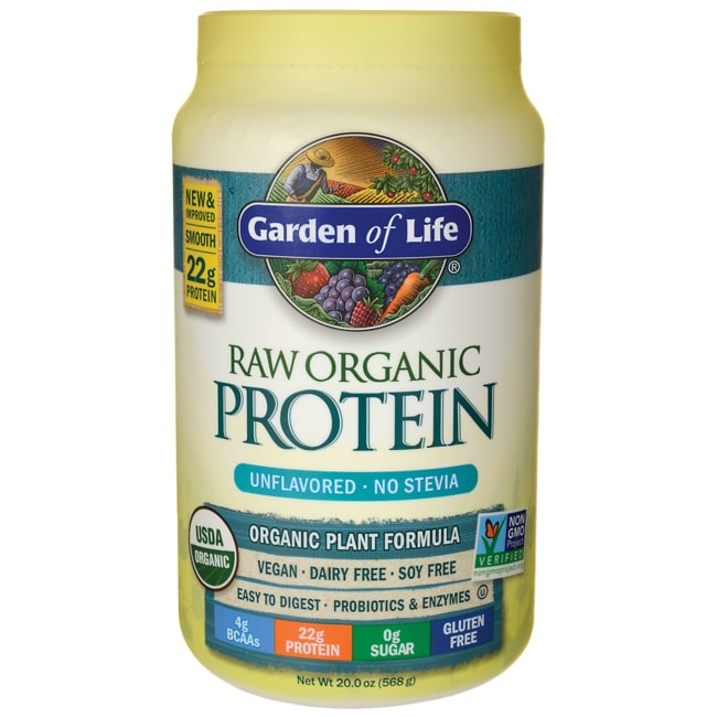 Garden of life organic raw protein unflavored 20 oz 568 - Garden of life raw meal weight loss results ...