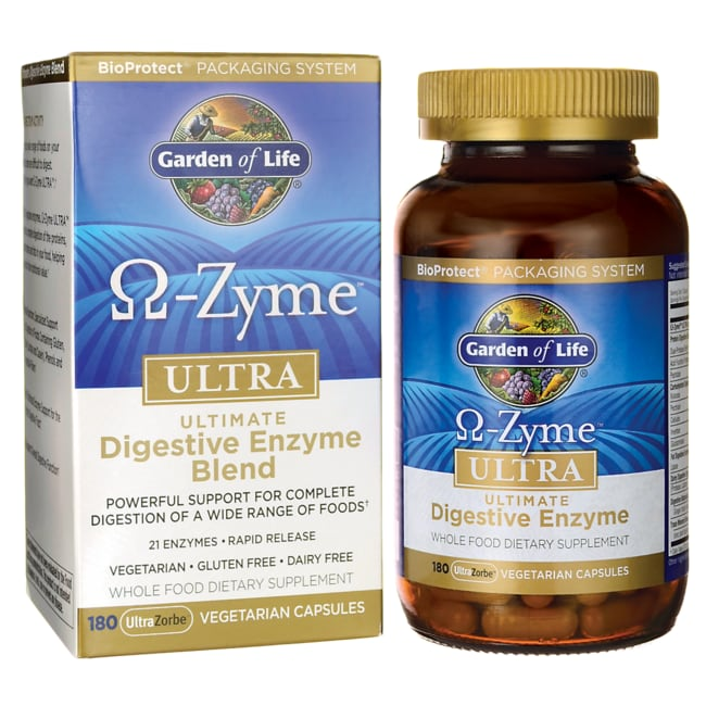 Garden of Life Omega-Zyme Ultra Ultimate Digestive Enzyme Blend