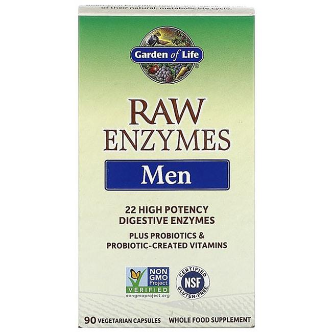 Garden of Life RAW Enzymes Men