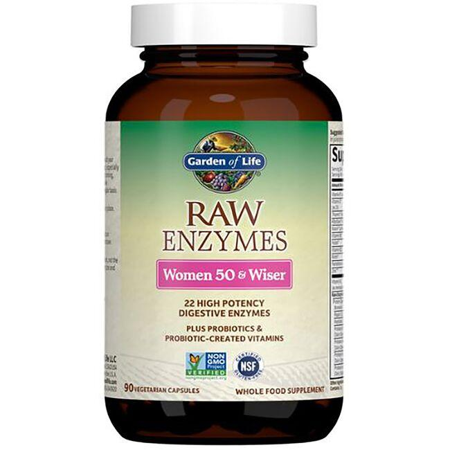 Garden of LifeRAW Enzymes Women 50 & Wiser