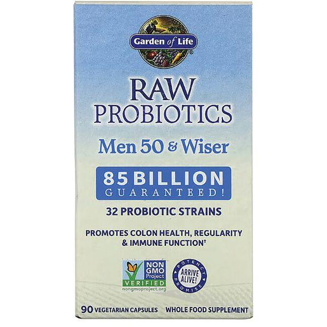Garden of Life RAW Probiotics Men 50 & Wiser