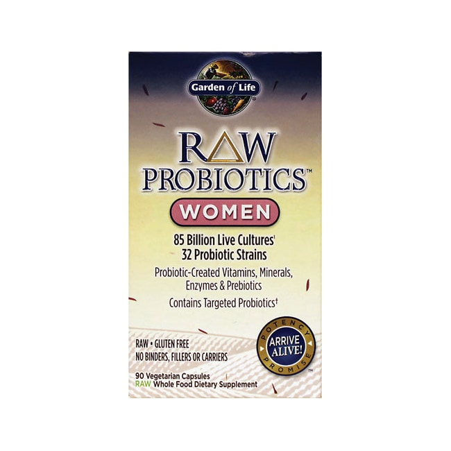 Garden of Life RAW Probiotics Women 90 Veg Caps Swanson Health