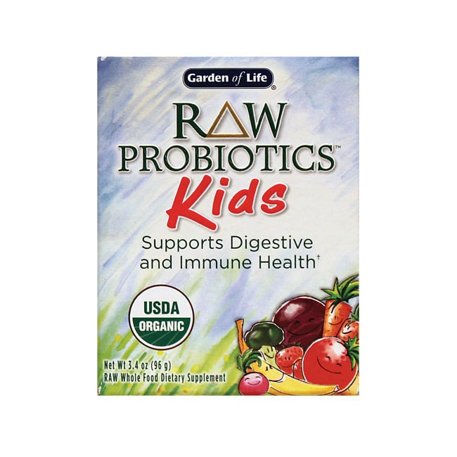 Garden of life raw organic probiotic kids 3 4 oz pwdr swanson health products for Garden of life raw probiotics kids