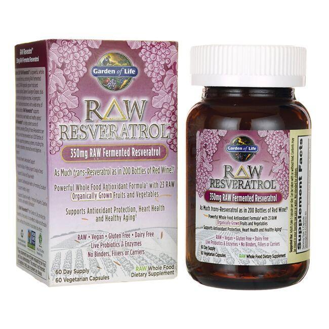 Garden of LifeRAW Resveratrol
