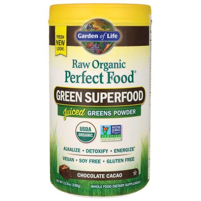 Garden of Life Raw Organic Perfect Food Green Superfood - Chocolate Cacao