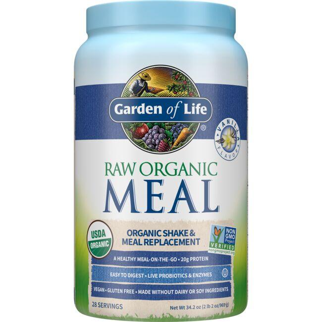 Garden of Life Raw Organic Meal Shake & Meal Replacement- Vanilla