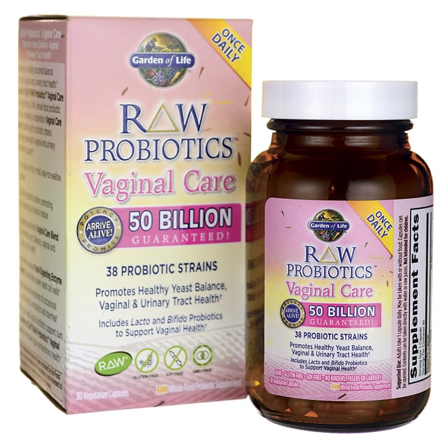 Garden Of Life Raw Probiotics Vaginal Care 30 Veg Caps Swanson Health Products