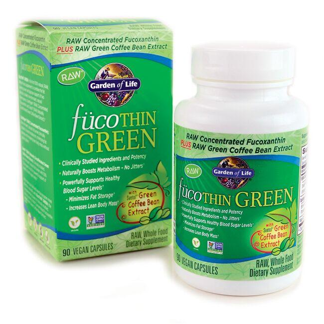 Garden of Life FucoThin Green with Svetol 90 Caps - Swanson Health ...