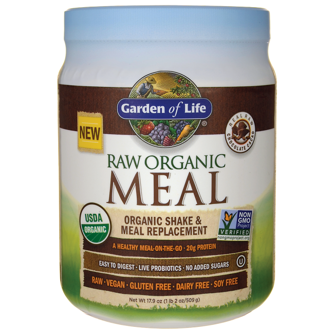 Garden of Life RAW Meal Organic Shake & Meal Replacement - Chocolate C