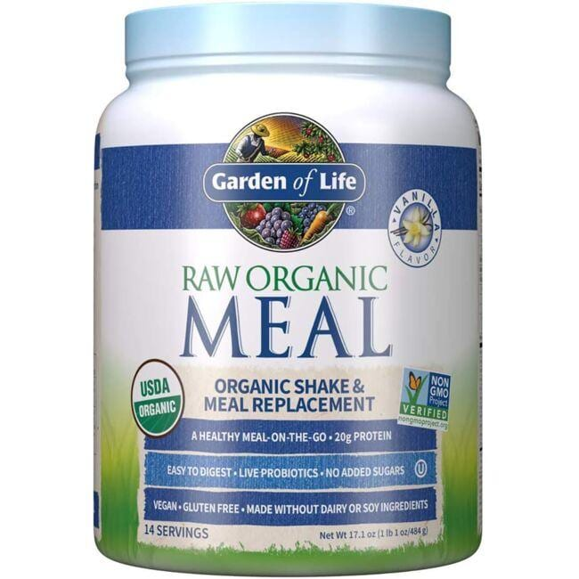 Garden of Life Raw Organic Meal Shake & Meal Replacement - Vanilla