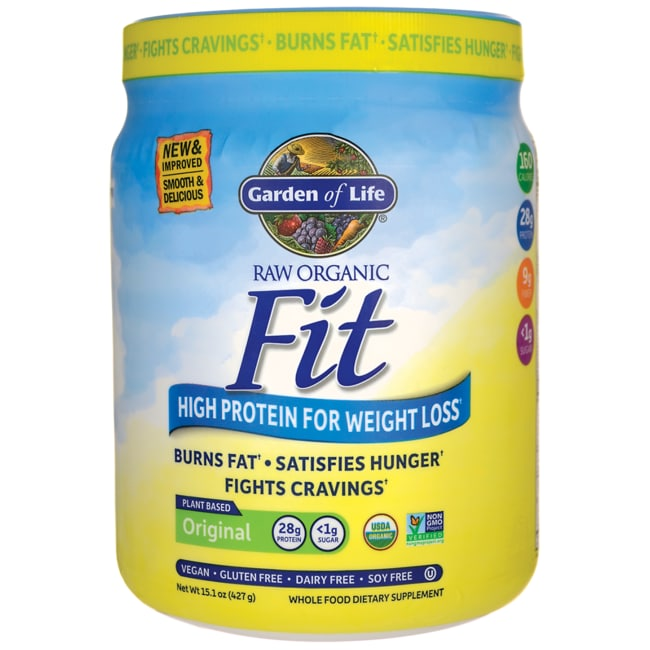 Garden of life raw organic fit high protein for weight - Garden of life raw meal weight loss results ...
