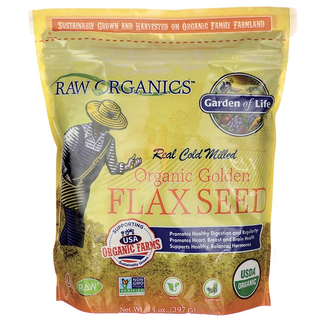 Garden of LifeRAW Organic Milled Golden Flaxseed