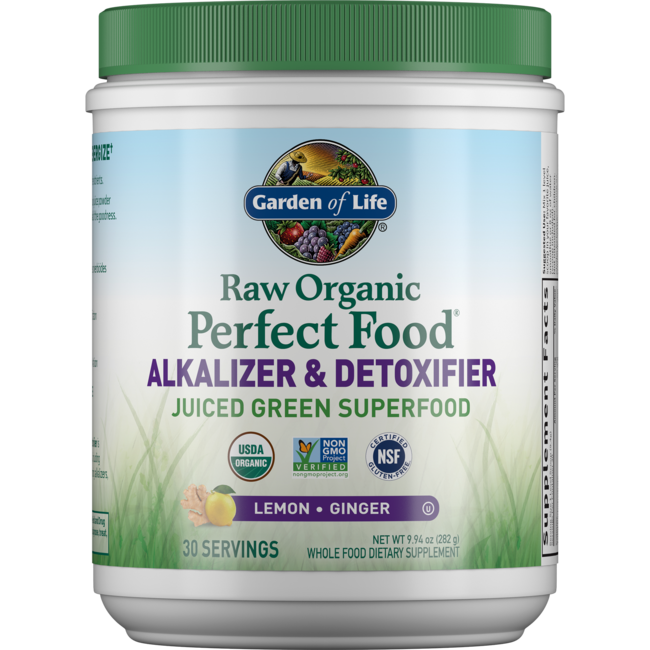 Garden Of Life Raw Organic Perfect Food Alkalizer Detoxifier 10 1 Oz 285 Grams Pwdr