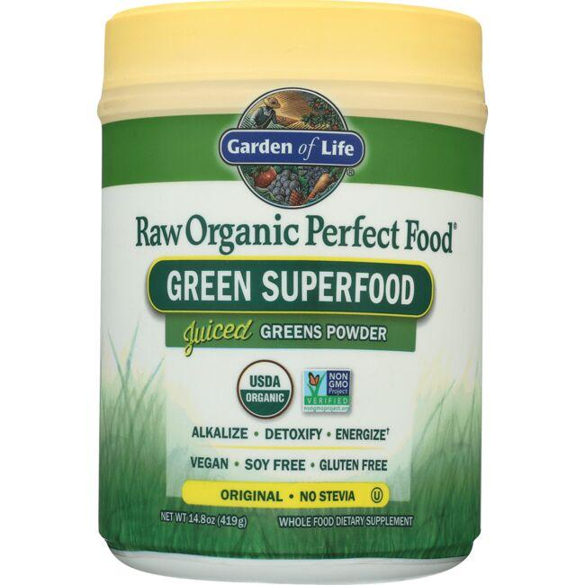 Garden of Life Raw Organic Perfect Food Green Superfood - Original