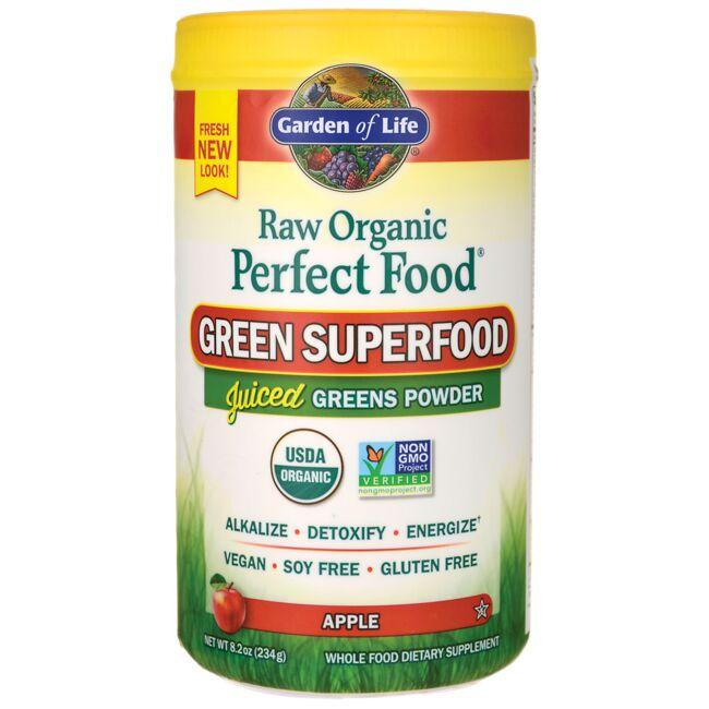 Garden of Life Raw Organic Perfect Food Green Superfood - Apple