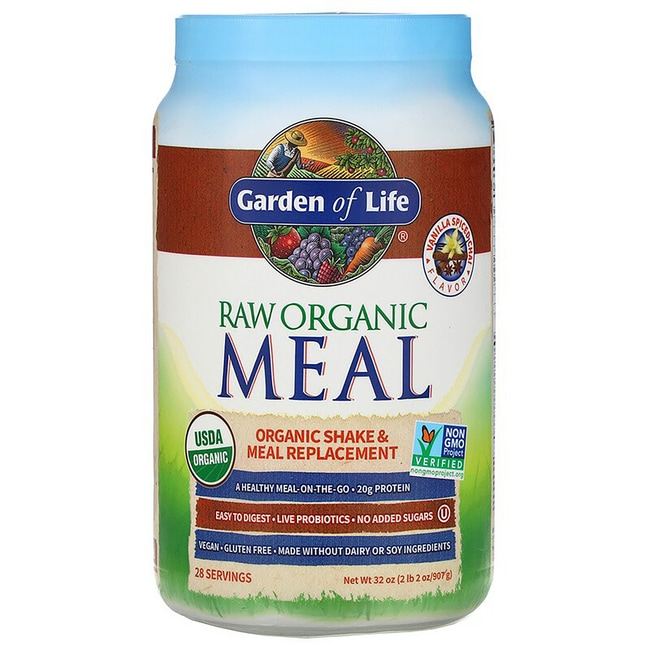 Garden of LifeRAW Meal Organic Shake/Meal Replacement Spiced Chai