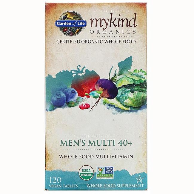 Garden of life mykind organics men 39 s multi 40 120 vegan - Garden of life multivitamin for men ...