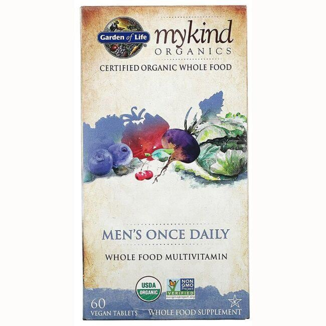 Garden of LifeMykind Organics Men's Once Daily