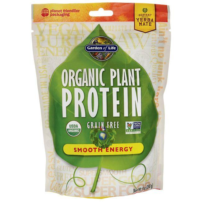 Garden of Life Organic Plant Protein - Smooth Energy