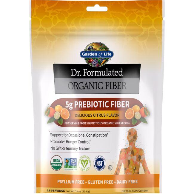 Garden of Life Dr. Formulated Organic Fiber - Delicious Citrus Flavor