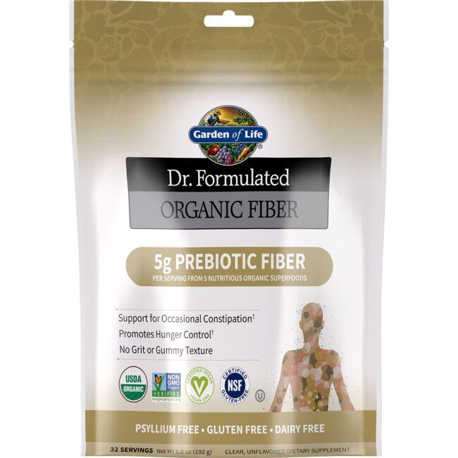 Garden of Life Dr. Formulated Organic Fiber - Unflavored