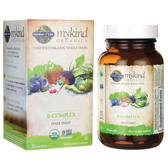Garden of Life Mykind Organics B-Complex Once Daily