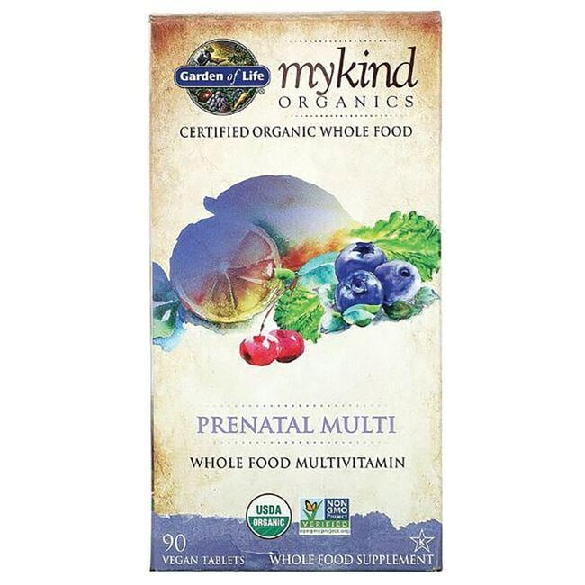 Garden of Life Mykind Organics Prenatal Once Daily Whole Food Multivit