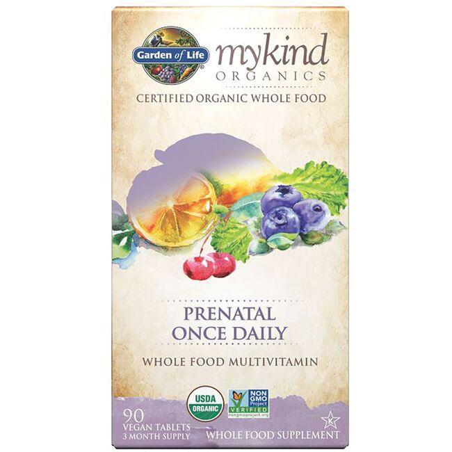 garden of lifemykind organics prenatal once daily whole food multivit - Garden Of Life Prenatal