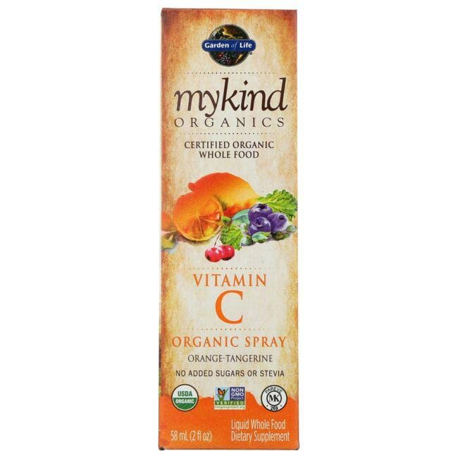 Garden of Life Mykind Organics Vitamin C Organic Spray - Orange-Tanger
