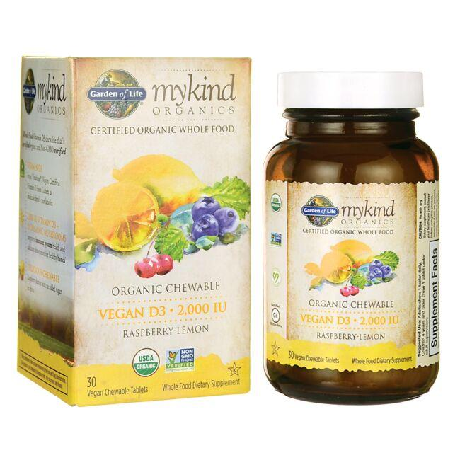 Garden of LifeMykind Organics Vegan D3 - Raspberry-Lemon