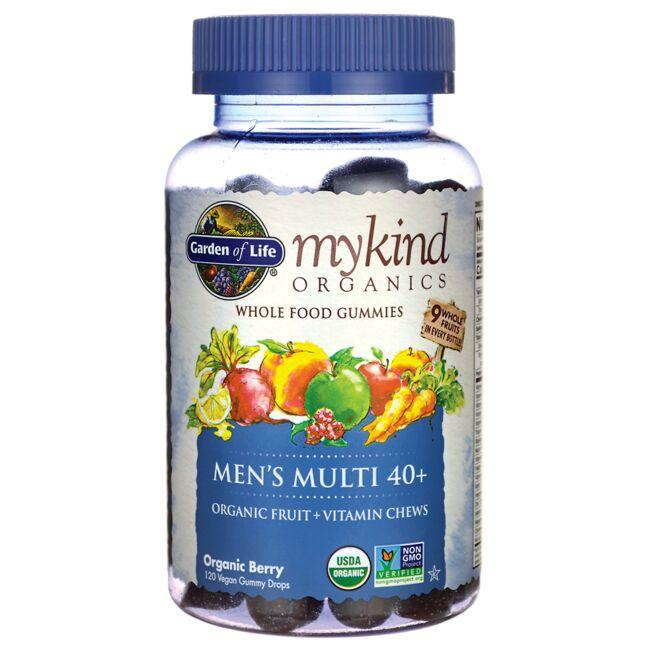Garden of Life Mykind Organics Men's 40+ Gummy Multi - Berry