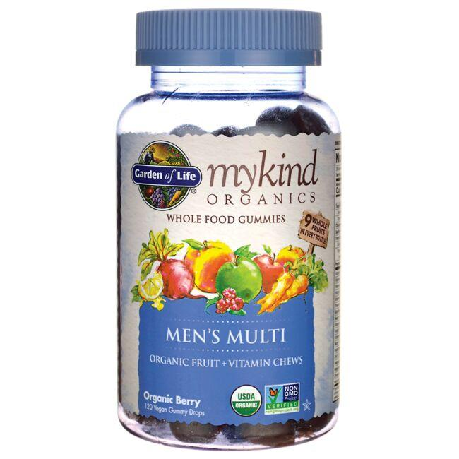 Garden of Life Mykind Organics Men's Gummy Multi - Berry