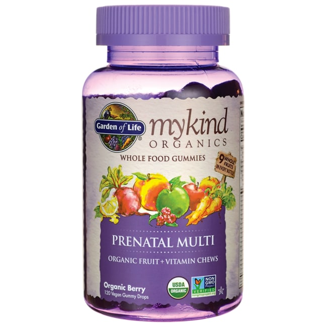 Garden of LifeMykind Organics Prenatal Gummy Multi - Berry