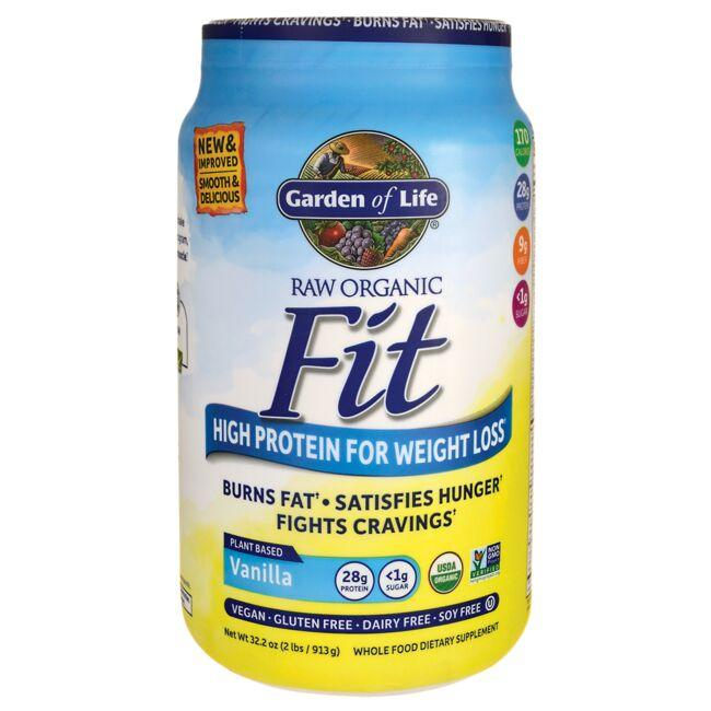 Garden of LifeRaw Organic Fit High Protein for Weight Loss - Vanilla