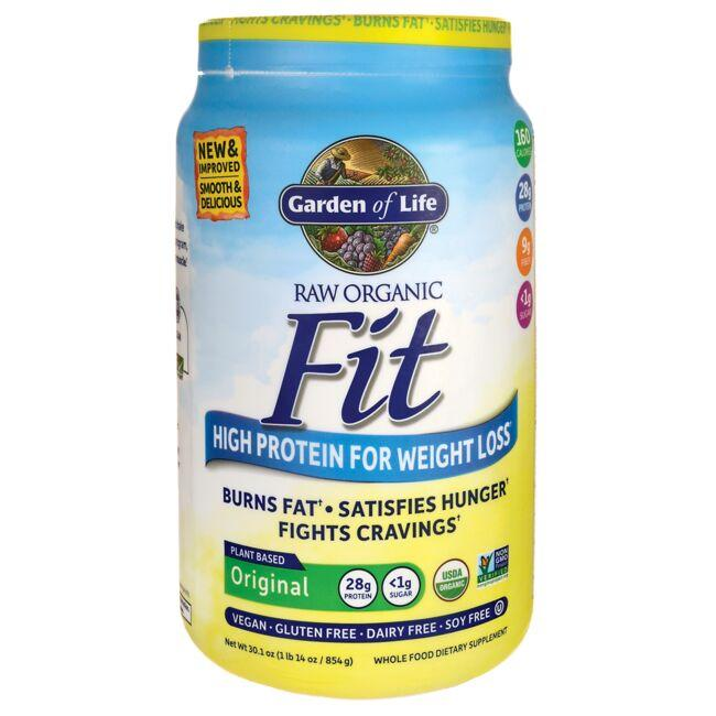 Garden of Life Raw Organic Fit High Protein for Weight Loss - Original