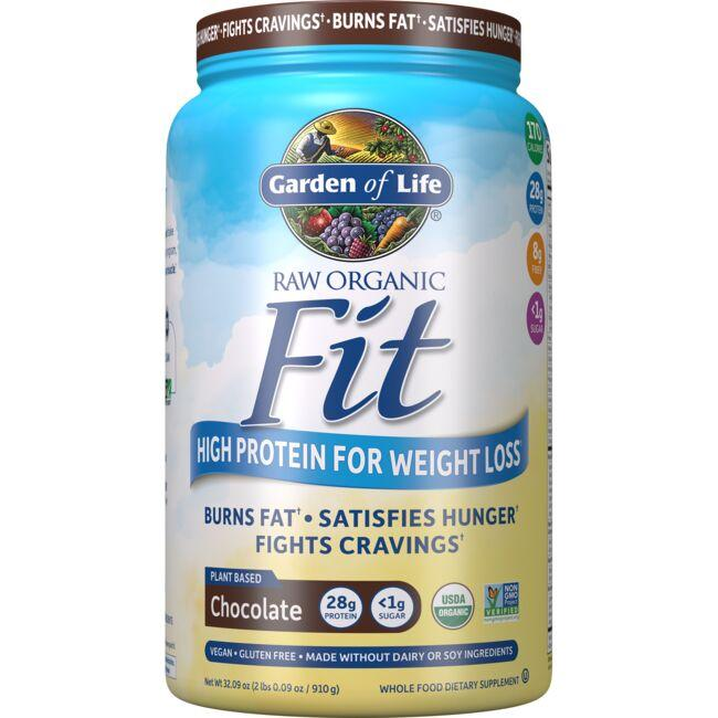 Garden of Life Raw Organic Fit High Protein for Weight Loss - Chocolate