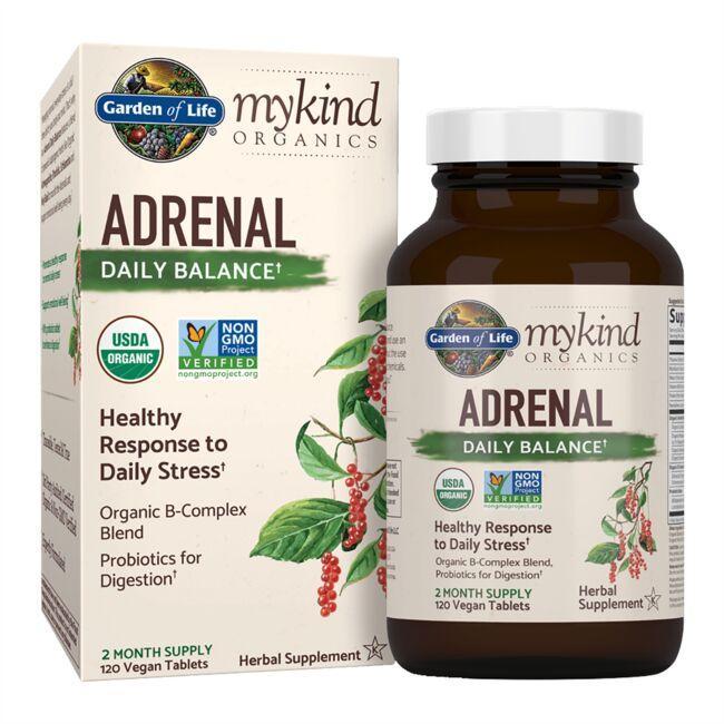 Garden of Lifemykind Organics Adrenal Daily Balance