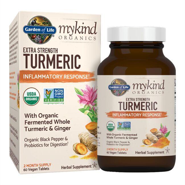 Garden of Lifemykind Organics Extra Strength Turmeric Inflammatory Response