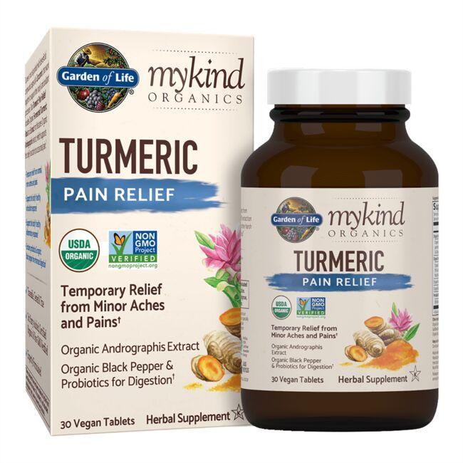 Garden of Lifemykind Organics Turmeric Pain Relief