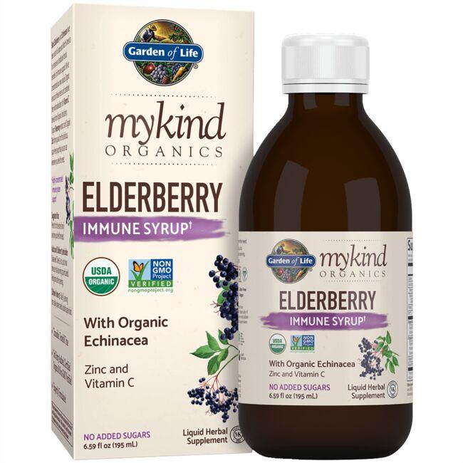 Garden of LifemyKind Organics Elderberry Syrup